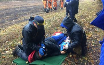 Действия спасателей на ГСБ
