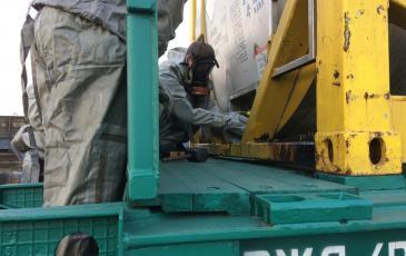 Проверка герметичности вагона-цистерны