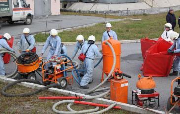 ПАСФ расставляет нефтесборное оборудования по рабочим точкам