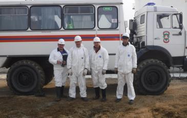 Спасатели Приморского центра, задействованные в КШУ