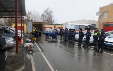 Демонстрация нефтесборного оборудования