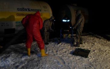 Подготовка к работе насосной станции «Заря»