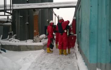 Проведение разведки газоспасательным отделением
