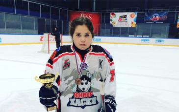 Парная Антонина — капитан МХК «Хаски Юниор»