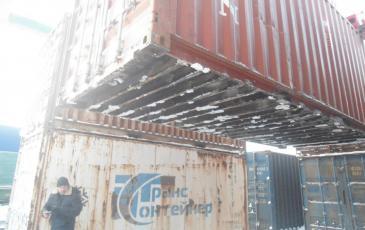 Подъём контейнера