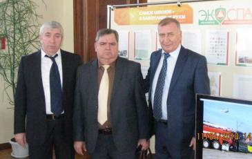 Фото с представителями администрации Краснодарского края