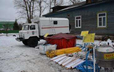Оборудование Тверского подразделения «ЭКОСПАС»