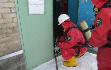 Проверка уровня загазованности перед входом