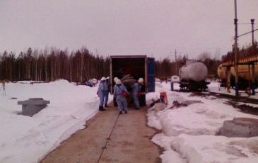 Развёртывание сил и средств Нижневартовского центра «ЭКОСПАС»