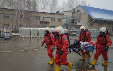 Эвакуация пострадавшего