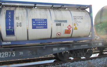Аварийный железнодорожный вагон