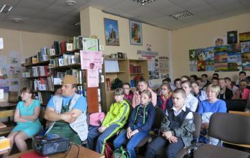 Учащиеся Рылеевской школы