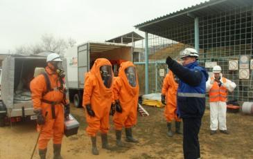 Постановка задач отделению разведки в Крыму