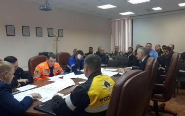 Штабные учения Приморского ТП «ЭКОСПАС»