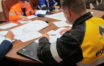 Участники КШУ «РН-Морской терминал Находка» разбирают по этапно План ТСУ