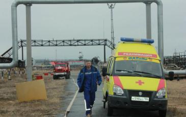 Прибытие скорой помощи