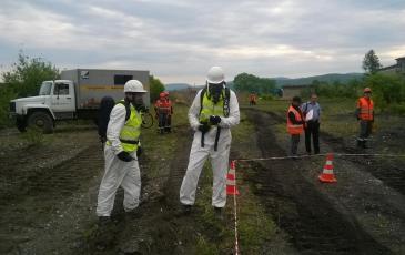 Проведение разведки газоспасательным отделением.