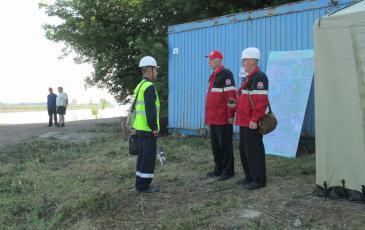 Доклад руководителю ТСУ о прибытии оперативных групп