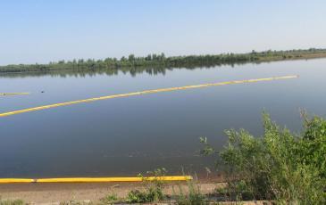 Розлив нефтепродуктов локализован