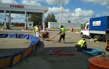 Подготовка нефтесборного оборудования к работе