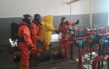Обнаружение места разгерметизации трубопровода жидкой фазы СУГ