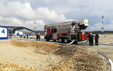 Проведение предварительного развёртывания пожарных подразделений