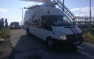 Прибытие спасательного отделения