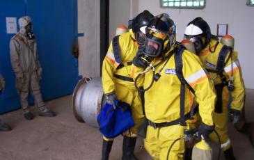 Завершение работы газоспасательного звена
