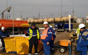 Смотр нефтесборного оборудования