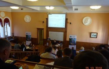 Выступление коммерческого директора АО «ЦАСЭО» О.Г. Сапрыгина