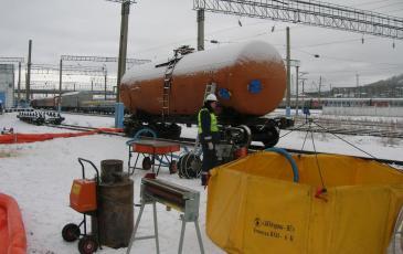Подготовка снаряжения и оборудования для проведения работ по ЛАРН