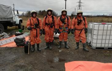 Спасатели Мурманского ТП Северо-Западного центра ЭКОСПАС