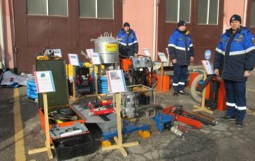 ЭКОСПАС на выставке аварийно-спасательного оборудования в Крыму