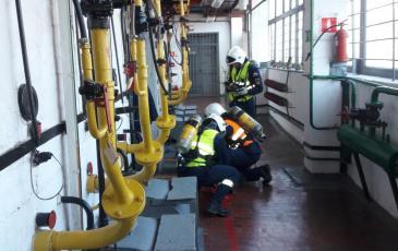 Проверка перекрытия подачи газа