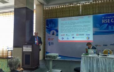 Выступление Генерального директора «ЭКОСПАС» Андрея Апреленко на сессии, посвященной аварийным разливам нефти на море и суше