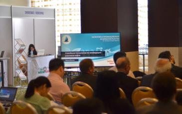 Стенд «ЭКОСПАС» на международной конференции «Экология и промышленная безопасность в ТЭК»