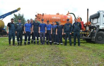 По итогам учений работа Центрального отряда спасателей «ЭКОСПАС» оценена на «отлично»
