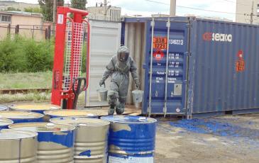 «ЭКОСПАС» проводит дегазацию опасной зоны