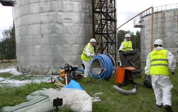 Развертывание подразделения Челябинского центра «ЭКОСПАС»