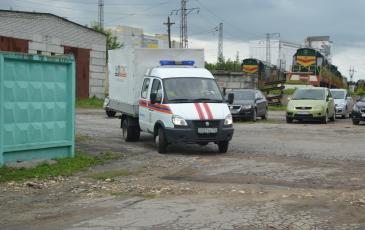 «ЭКОСПАС» прибыл к месту проведения учений на станцию «Рязань-2»