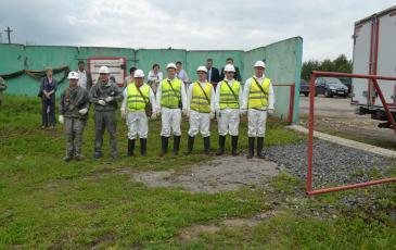 Спасатели Центрального отряда «ЭКОСПАС»
