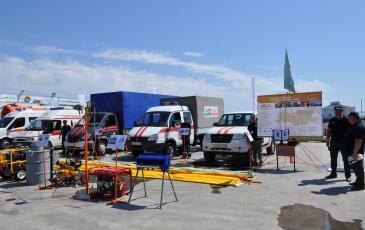 «ЭКОСПАС» представил оборудование и технику