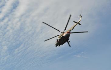 Вертолет Приволжского регионального центра МЧС России
