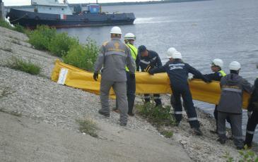 Совместная работа спасателей «ЭКОСПАС» и ПАСФ заказчика