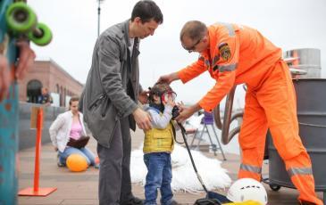 Приморский центр «ЭКОСПАС» принял участие в выставке пожарно-спасательной техники во Владивостоке в рамках Дня инноваций МЧС России