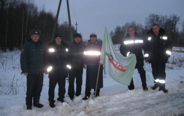 Аварийно-спасательная бригада Брянского центра «ЭКОСПАС»