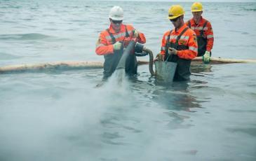Спасатели «ЭКОСПАС» за работой