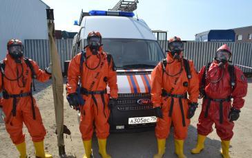 Газоспасатели к выполнению специальных задач готовы