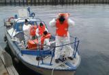 Погрузка и подготовка к выходу в морскую акваторию
