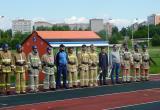 Построение участников соревнований